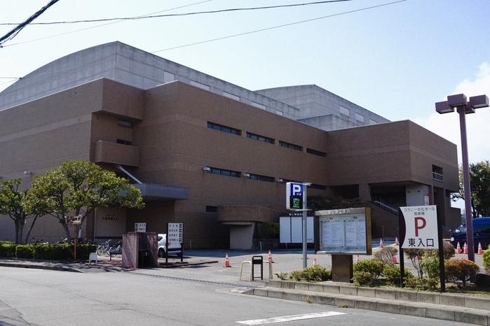 day-4 山梨 コラニー文化ホール  昨晩ほうとう食べた。美味かった。