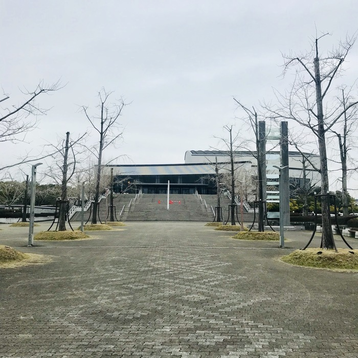 day-23 佐賀 佐賀市文化会館  初SAGA! 曇り。 よろしくお願いします。